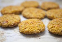 Cookies made with coconut sugar